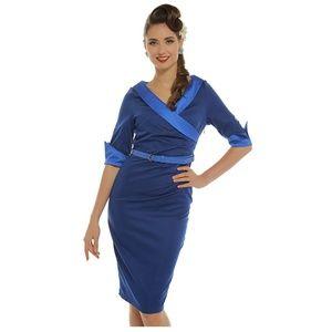 Evadine Lindy Bop Wiggle Dress